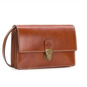 Patricia Nash Lanza Italian Leather Crossbody Bag